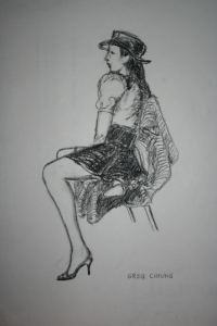 Carmencita, live model 3/20/14