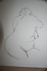 Mimi Life drawing class