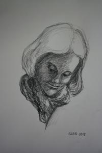 Emma Conte crayon 11x14
