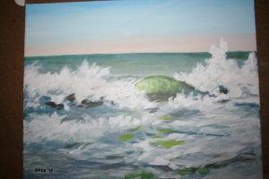 Wave study No. 1